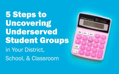 5 Steps to Uncovering Underserved Student Groups in Your District, School, & Classroom